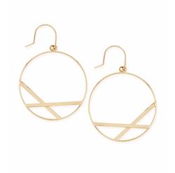 Lana - Affinity Hoop Drop Earrings