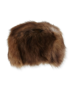 Adrienne Landau  - Fox Fur Hat