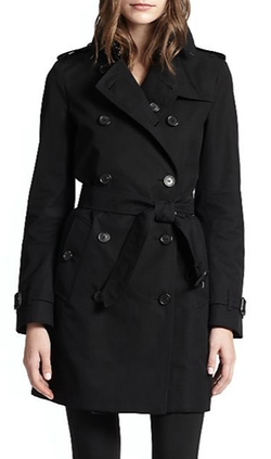 Burberry London  - Double-Breasted Buckingham Trench Coat