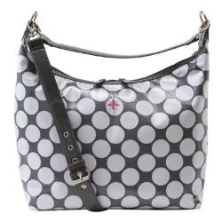 JP Lizzy  - Glazed Polka-Dot Hobo Diaper Bag