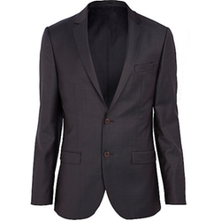River Island - Navy Suit Jacket