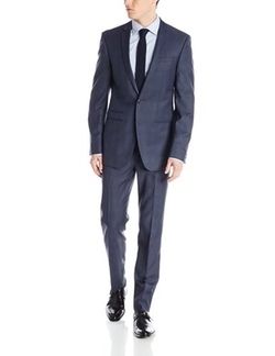 Andrew Fezza - Plaid Two-Button Side-Vent Suit