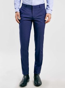 Topman  - Textured Ultra Skinny Pants
