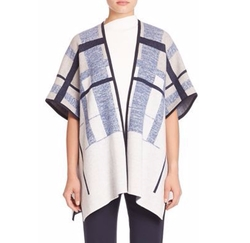 Lafayette 148 New York - Mouline Merino Brushed Jacquard Cape