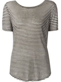 Enza Costa  - Striped T-Shirt