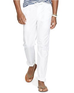 Ralph Lauren - Cotton Poplin Pants