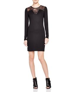 Vero Moda  - Geometric Lace Inset Dress