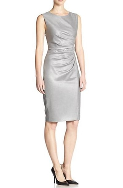 Max Mara - Medusa Ruched Sheath Dress