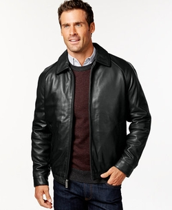 Nautica  - Classic Leather Jacket