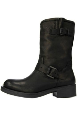 Moken - Leather Biker Boots