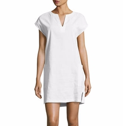 Theory - Saturnina Crunch Wash Shift Dress