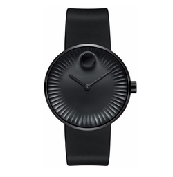 Movado - Edge with Rubber Strap Watch