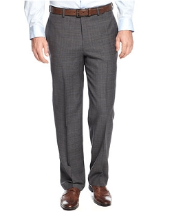 Greg Norman for Tasso Elba  - Plaid Dress Pants