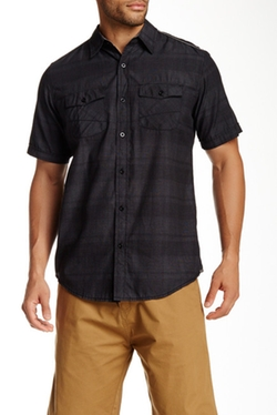 Burnside -  Subtle Stripe Shirt
