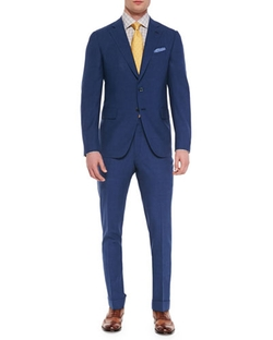 Isaia - Solid Two-Button Suit