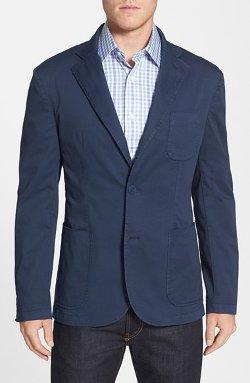 Di Milano Uomo  - Trim Fit Cotton Blazer