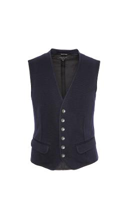 Rag & Bone  - Knit Grosvenor Waistcoat