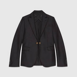 Gucci - Barberini Wool Mohair Jacket