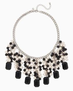 Dark Shimmer -  Bib Necklace