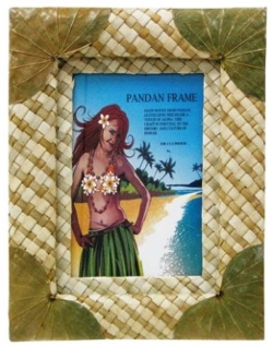 Islander - Pandan With Green Leaf Photo Frame