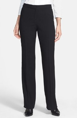 Santorelli  - Wool Crepe Trousers