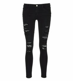 Frame Denim - Le Skinny De Jeanne Rip Slim Fit Jeans