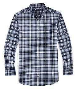 Cremieux  - Plaid Button-Down Collar 1-Pocket Oxford Shirt