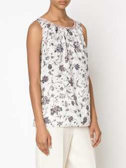 Dosa - Floral Flared Tank Top