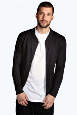 Boohooman  - Slim Fit Bomber Jacket