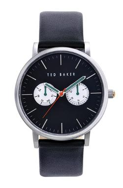 Ted Baker London  - Multifunction Leather Strap Watch