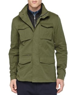 Vince   - 3-in-1 Military Jacket
