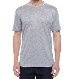 Salvatore Ferragamo - Gancini Woven Crewneck T-Shirt