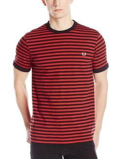 Fred Perr - Slub-Stripe Ringer T-Shirt