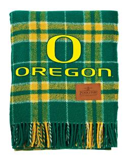 Pendleton - University of Oregon Tartan Collegiate Blanket