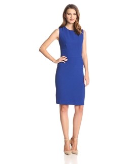 Kasper - Seamed Waist Sheath Dress