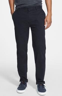 Lacoste - Slim Straight Leg Gabardine Chino Pants