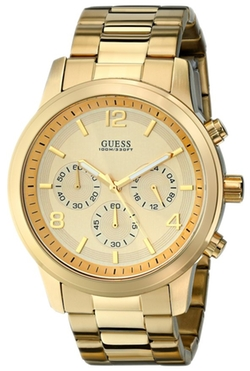 Guess - Gold-Tone Chronograph Watch