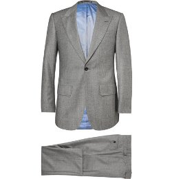 Lutwyche - Slim Fit Cashmere Blend Three Piece Suit