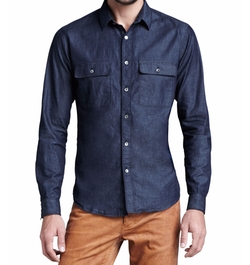 Theory - Soft-Wash Chambray Shirt