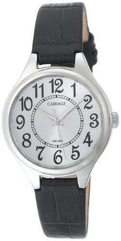 Timex  - Wmns Silvertone and Blk Croco