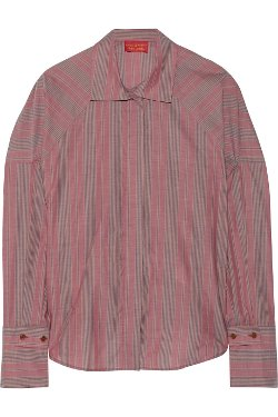 Vivienne Westwood Red Label  - Striped Cotton Blouse