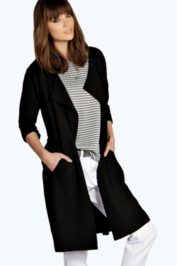 Boohoo - Carol Fluid Belted Trench Coat