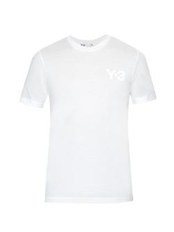 Y-3 - Logo-Print Jersey T-Shirt