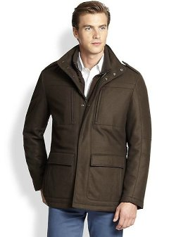 Saks Fifth Avenue Collection  - Cashmere Field Jacket