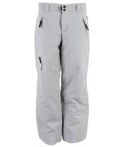 Pro Board Shop - Exposure Brenda Cargo Insulated Snow Pants Light Grey - Women