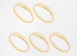 Gorjana - Beveled Five Rings