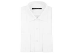 Sean John - White Solid French Cuff Dress Shirt