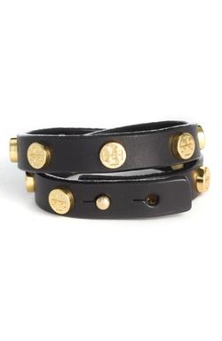 Tory Burch - Double Wrap Logo Bracelet