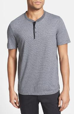 Kenneth Cole Reaction - New York Stripe Henley
