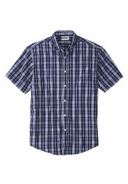 Kingsize - Checked Short Sleeve Sport Shirt